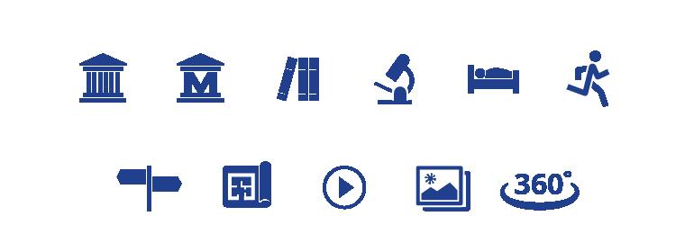 Case study: Tartu Ülikooli kaartide veebikeskkond - ikoonid