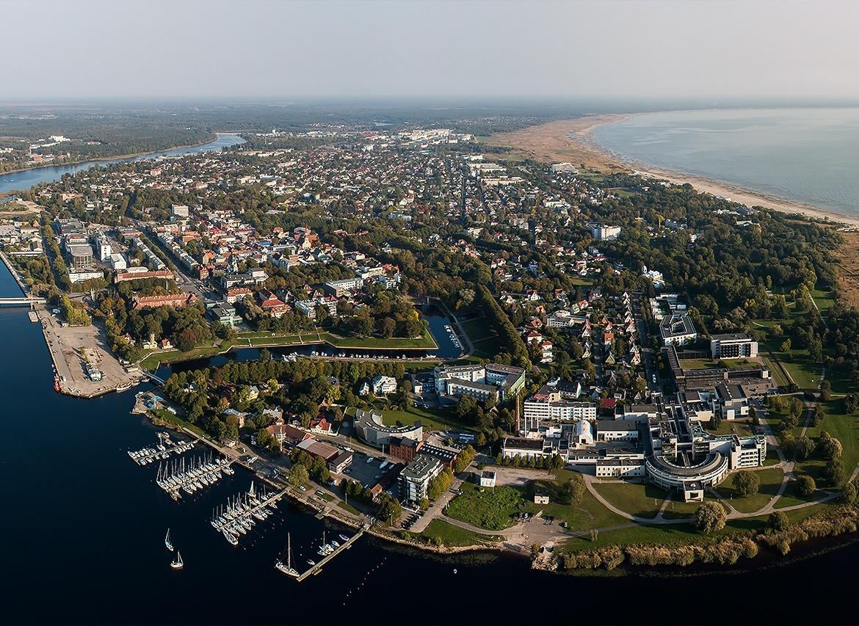 Case study: Tartu Ülikooli kaartide veebikeskkond - Pärnu aerofoto